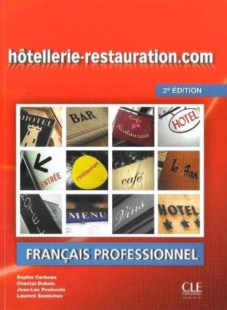 Hotellerie restauration.com. 2 - okładka podręcznika