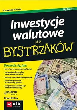 Inwestycje walutowe dla bystrzaków - okładka książki