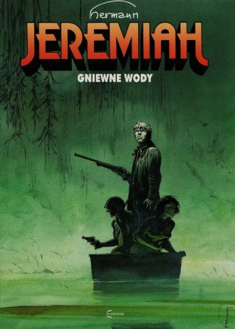 Jeremiah. Tom 8. Gniewne wody - okładka książki