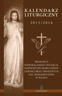 Kalendarz liturgiczny 2015/2016 - okładka książki