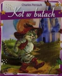 Kot w butach - okładka książki