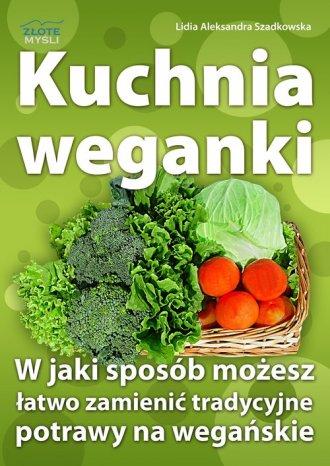 Kuchnia weganki - okładka książki
