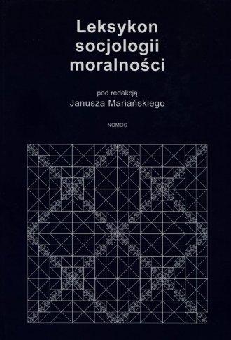 Leksykon socjologii moralności - okładka książki