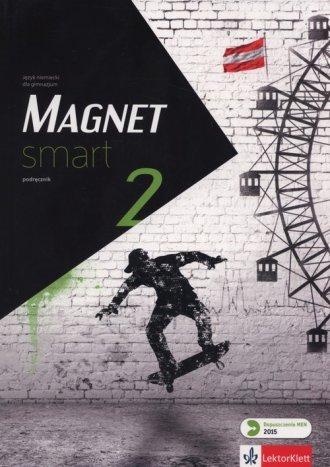 Magnet Smart 2. Podręcznik (+ CD). - okładka podręcznika