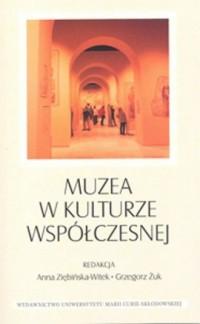 Muzea w kulturze współczesnej - okładka książki