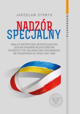 Nadzór specjalny. Analiza historyczno-antropologiczna - okładka książki