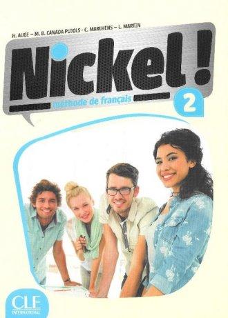 Nickel 2. Podręcznik (+ DVD) - okładka podręcznika
