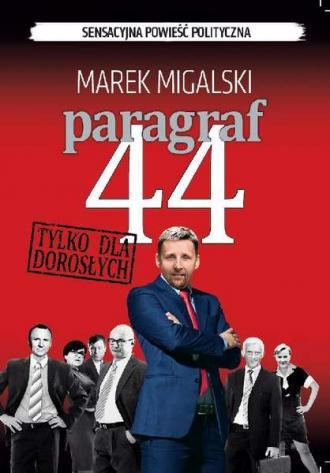 Paragraf 44 - okładka książki