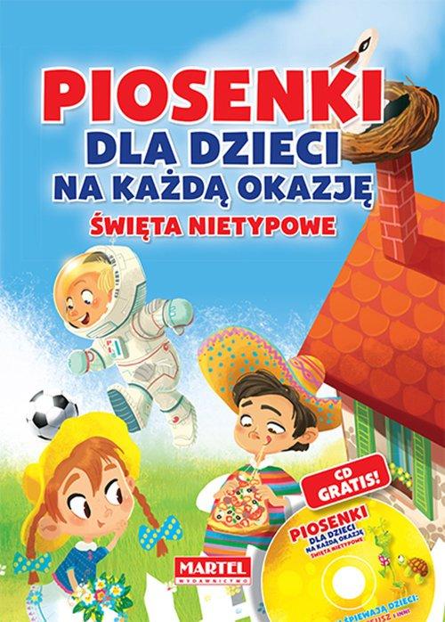 Piosenki dla dzieci na każdą okazję. - okładka książki