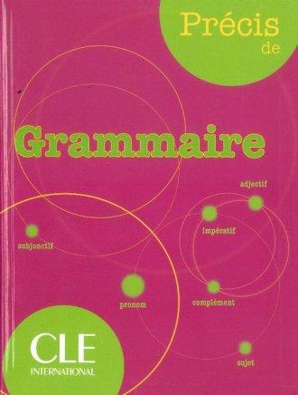 Precis de Grammaire - okładka podręcznika