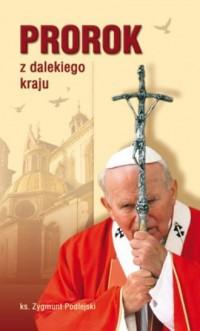 Prorok z dalekiego kraju - okładka książki