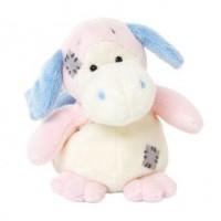 Różowy smok (niebieski nosek) - zdjęcie zabawki, gry