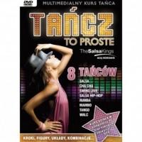 Tańcz to proste DVD. Multimedialny - okładka książki