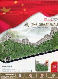 Wielki mur chiński (puzzle 3D) - zdjęcie zabawki, gry