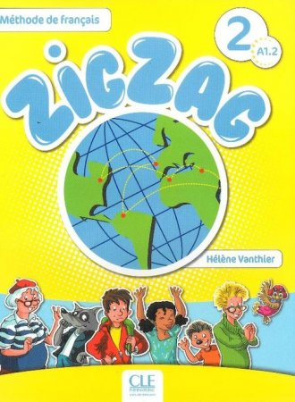 Zig Zag 2 A1 2. Podręcznik (+ CD) - okładka podręcznika