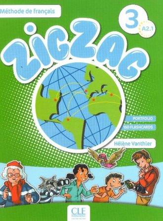 Zig zag 3. Podręcznik - okładka podręcznika