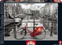 Amsterdam (puzzle 3000-elem.) - zdjęcie zabawki, gry
