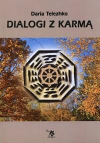 Dialogi z karmą - okładka książki