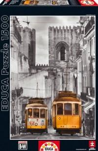 Dzielnica Alfama. Lizbona (puzzle 1500-elem.) - zdjęcie zabawki, gry