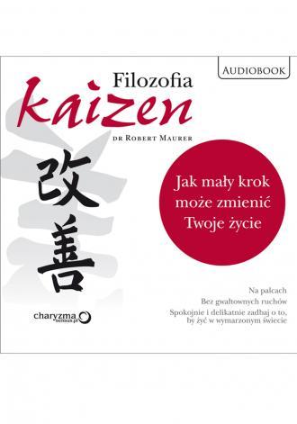 Filozofia Kaizen. Jak mały krok - pudełko audiobooku