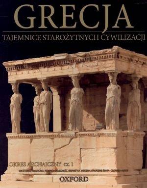 Grecja. Okres archaiczny cz. 1. - okładka książki
