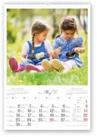 Kalendarz 2016. Dzieci wśród nas - okładka książki