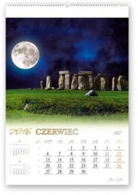 Kalendarz 2016. Noce księżycowe - okładka książki