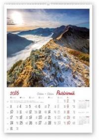 Kalendarz 2016. Pejzaże tatrzańskie - okładka książki