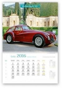 Kalendarz 2016. Samochody retro - okładka książki