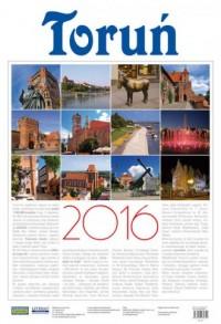 Kalendarz 2016. Toruń (ścienny) - okładka książki