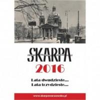 Kalendarz 2016. Warszawa lata dwudzieste, lata trzydzieste - okładka książki