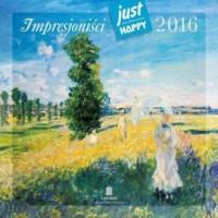 Kalendarz praktyczny 2016. Impresjoniści - okładka książki