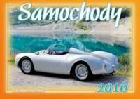 Kalendarz rodzinny 2016. Samochody - okładka książki