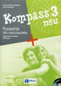 Kompass 3 neu. Poradnik dla nauczyciela (+ CD). Gimnazjum - okładka podręcznika