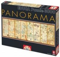 Mapa świata 1375 (puzzle 3000-elem.) - zdjęcie zabawki, gry