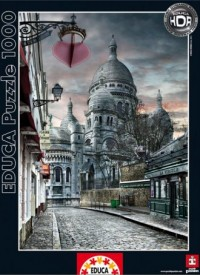 Montmartre (puzzle 1000-elem.) - zdjęcie zabawki, gry