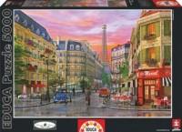 Paryska ulica. Dominic Davison (puzzle 5000-elem.) - zdjęcie zabawki, gry