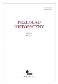 Przegląd Historyczny. Tom CV. Zeszyt 3 / 2014 - okładka książki