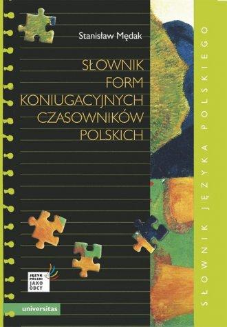 Słownik form koniugacyjnych czasowników - okładka książki