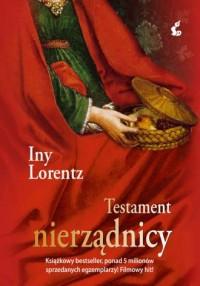 Testament nierządnicy - okładka książki