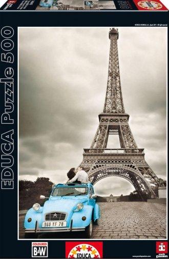 Wieża Eiffla. Paryż (puzzle 500-elem.) - zdjęcie zabawki, gry