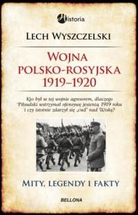 Wojna polsko-rosyjska 1919-1920 - okładka książki