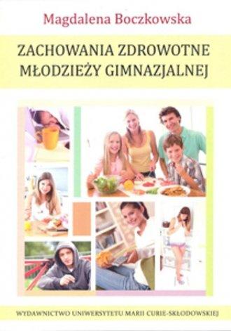 Zachowania zdrowotne młodzieży - okładka książki