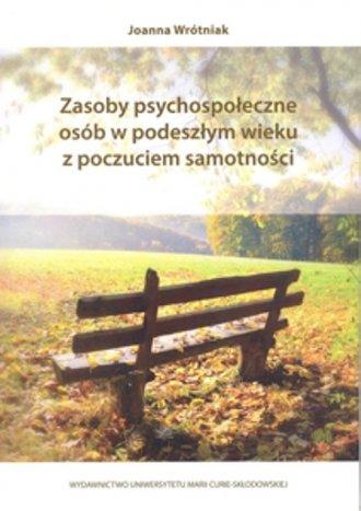 Zasoby psychospołeczne osób w podeszłym - okładka książki