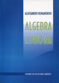 Algebra liniowa - okładka książki