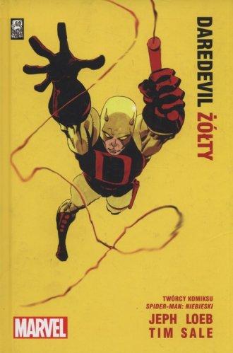 Daredevil żółty - okładka książki
