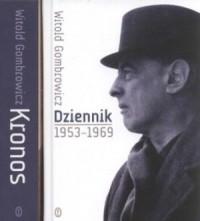 Dziennik 1953 - 1969  Kronos. Gombrowicz - okładka książki