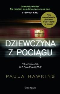 Dziewczyna z pociągu - okładka książki