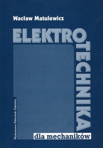 Elektrotechnika dla mechaników - okładka książki