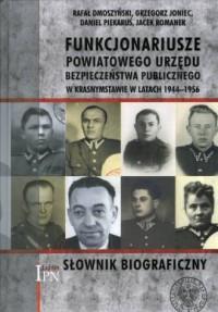 Funkcjonariusze powiatowego Urzędu - okładka książki